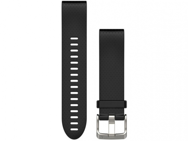 Garmin Quickfit 20mm Black Silicone